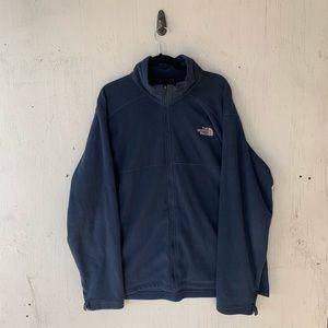 The North Face Blue Full Zip Fleece Jacket